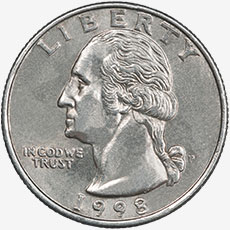 United States Quarter Heads